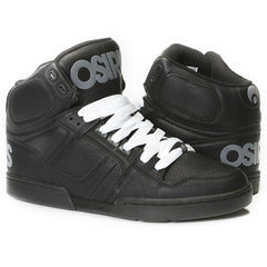 Osiris NYC 83 Men's Skateboard Shoes - Black/Grey/White
