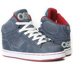 Osiris NYC 83 Men's Skateboard Shoes - Blue/Red/Silver