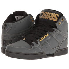 Osiris NYC 83 Men's Skateboard Shoes - Charcoal/Black/Gold