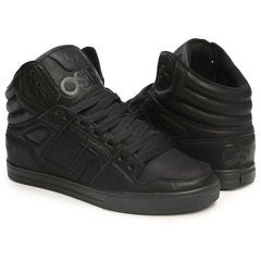 Osiris Clone Men's Skateboard Shoes - Black/Metal