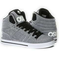 Osiris Clone Men's Skateboard Shoes - Grey/Oxford