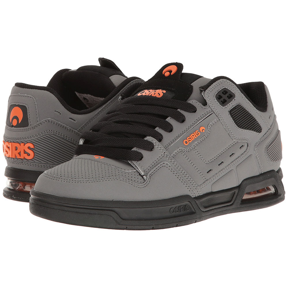 Osiris Peril Men's Skateboard Shoes - Charcoal/Black/Orange