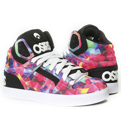 Osiris Clone Women's Skateboard Shoes - Kaleidoscope