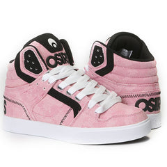 Osiris Clone Women's Skateboard Shoes - Pink Fatigues