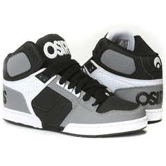Osiris NYC 83 Men's Skateboard Shoes - Grey/White/Black