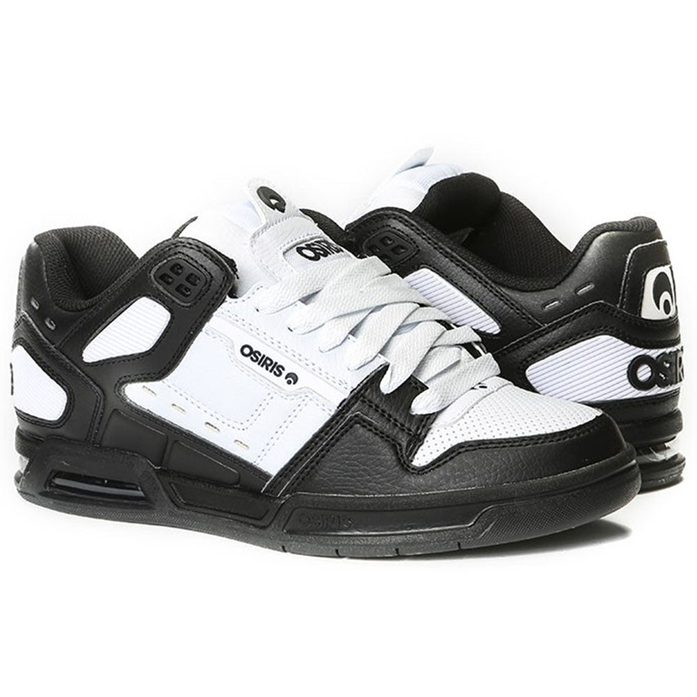 Osiris Peril Men's Skateboard Shoes - Black/White/Black