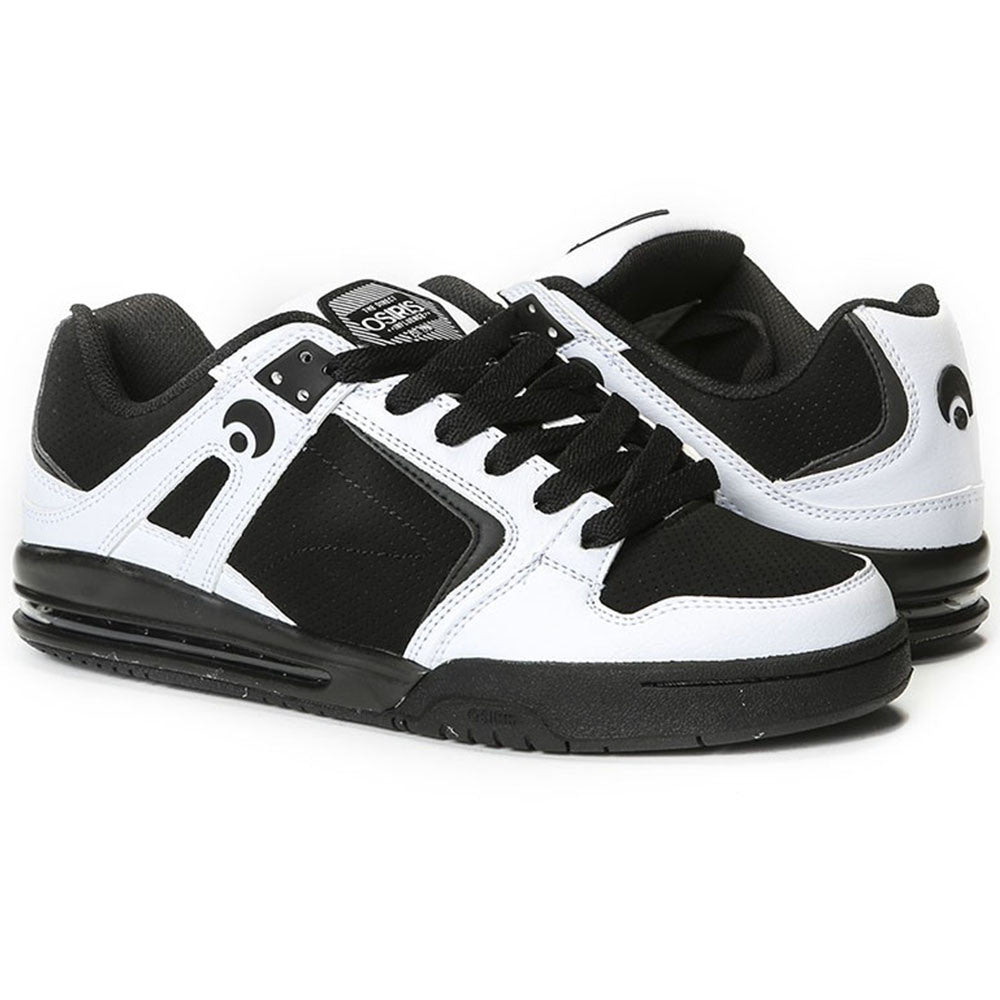 daf839f34c Osiris PXL Men's Skateboard Shoes - White/Black/White. Enlarge Image