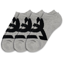 DC Suspension 2 - Heather Grey - Men's Socks (3 Pair)