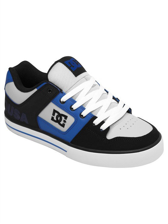 DC Pure XE Men's Shoes - Black/Nautical Blue