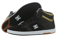 DC Nyjah High - Black/Gold - Men's Shoes