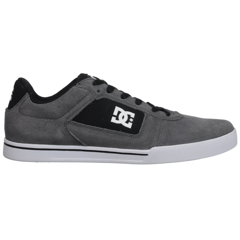 DC Cole Pro Men's Skateboard Shoes - Battleship/White