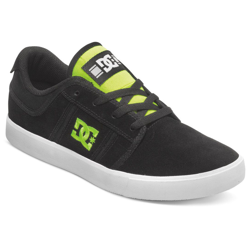 DC Rob Dyrdek Grand Men's Skateboard Shoes - Black/Fluorescent Yellow BFY