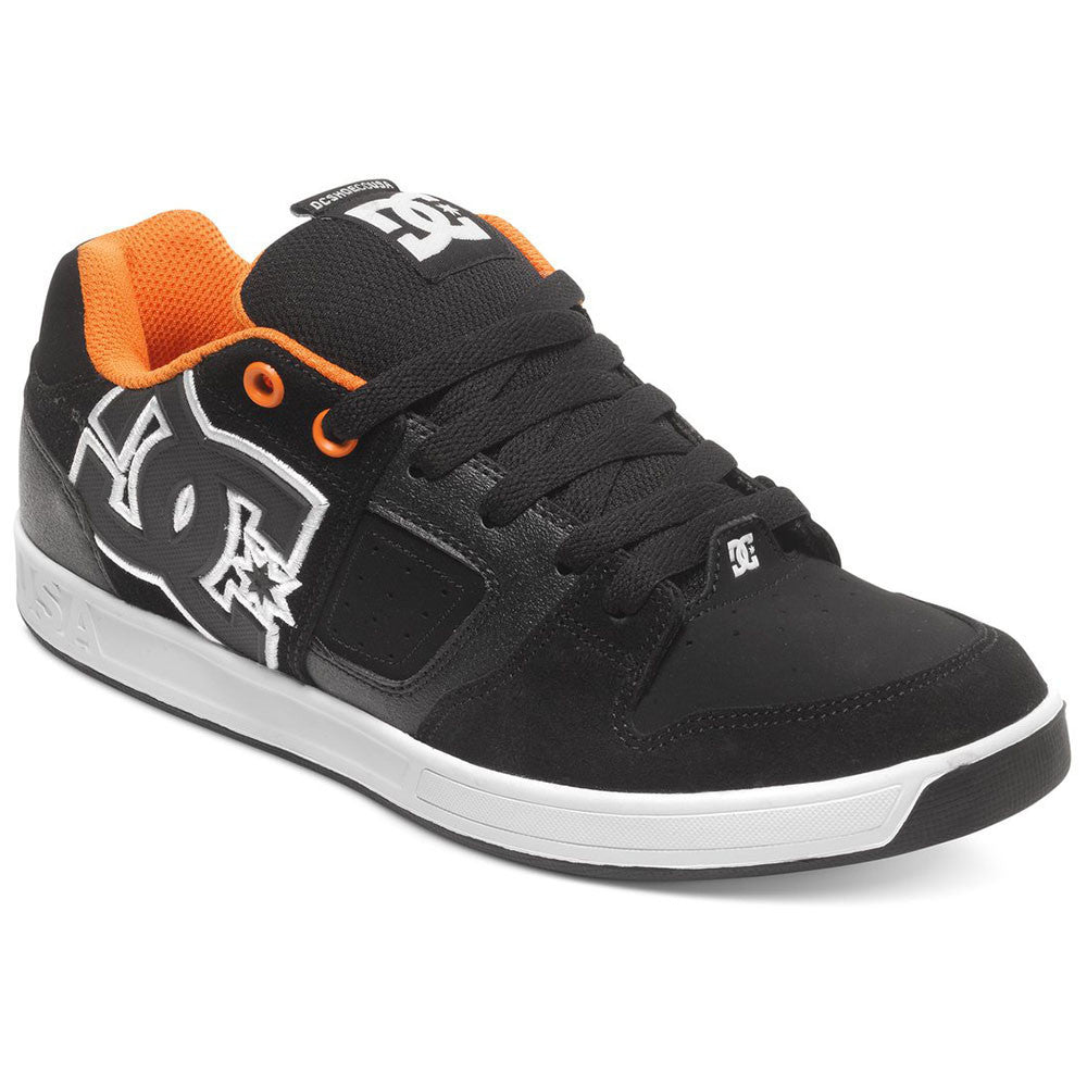 DC Sceptor Men's Skateboard Shoes - Black Orange BLO