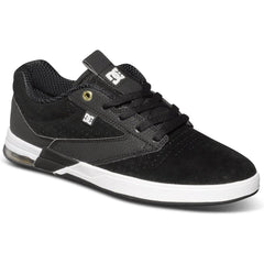 DC Wolf S Men's Skateboard Shoes - Black/White BKW