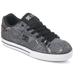 DC Pure Real Tree Men's Skateboard Shoes - Grey GRY