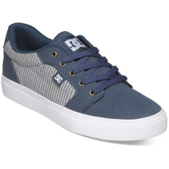 DC Anvil TX SE Men's Skateboard Shoes - Dark Denim BRQ0