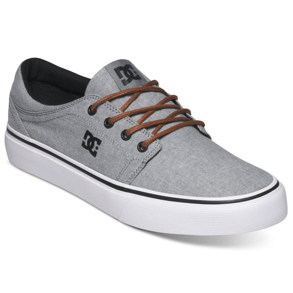DC Trase TX SE Men's Skateboard Shoes - Light Grey LGR
