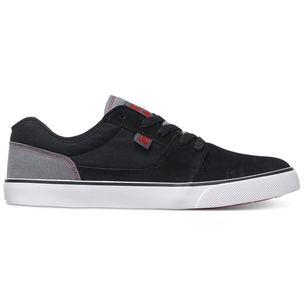 DC Tonik Men's Skateboard Shoes - Black/Grey/Red XKSR