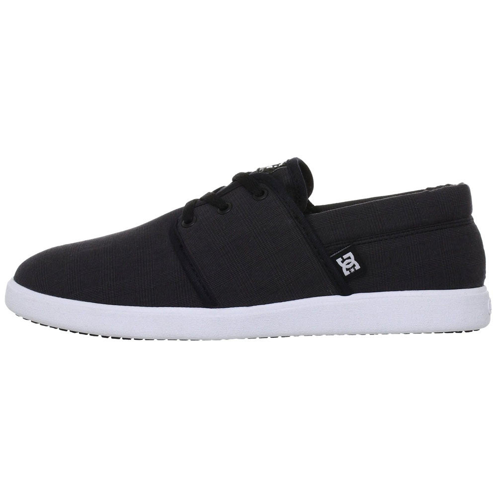 DC Haven Men's Skateboard Shoes - Black/White BKW