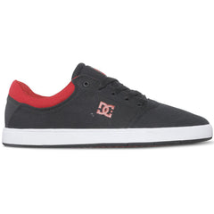 DC Crisis TX Men's Skateboard Shoes - Black/Red BLR