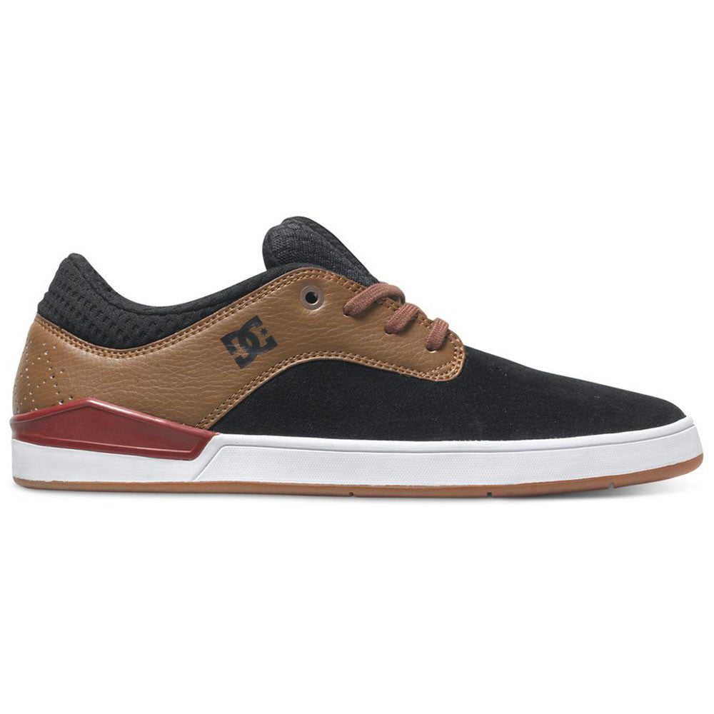 DC Mikey Taylor 2 S Men's Skateboard Shoes - Black/Brown/White XKCW