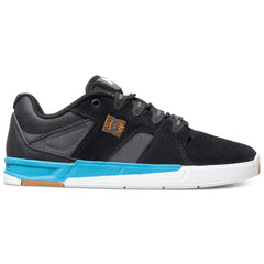 DC Maddo Men's Skateboard Shoes - Black/Turquoise BTU