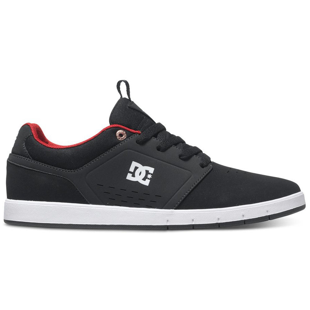 DC Cole Signature Men's Skateboard Shoes - Black/Red BLR
