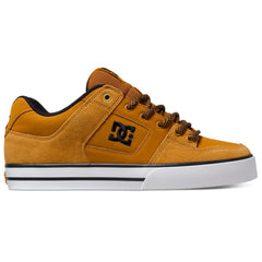 DC Pure Men's Skateboard Shoes - Wheat WE9