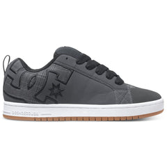 DC Court Graffik SE Men's Skateboard Shoes - Grey w/ Black GYB