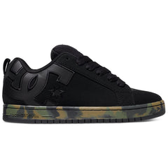 DC Court Graffik SE Men's Skateboard Shoes - Black Camouflage CA2