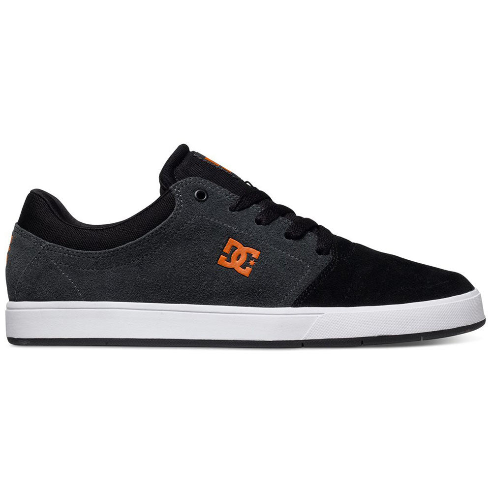DC Crisis Men's Skateboard Shoes - Grey/Orange GO6