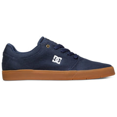 DC Crisis TX Men's Skateboard Shoes - Navy w/ Gum NGM