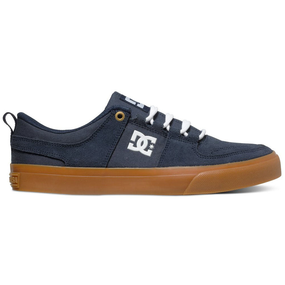 DC Lynx Vulc Men's Skateboard Shoes - Navy w/ Gum NGM