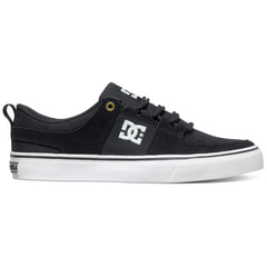 DC Lynx Vulc Men's Skateboard Shoes - Black Herringbone BL0