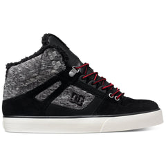 DC Spartan High WC Men's Skateboard Shoes - Black Rinse KRS