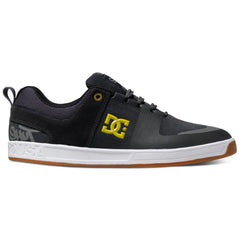 DC Lynx Prestige S Men's Skateboard Shoes - Charcoal/Yellow CY0