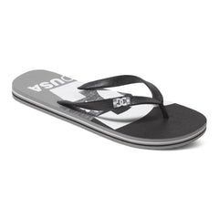 DC Spray Graffik Men's Sandals - Grey/Black/Grey GBG