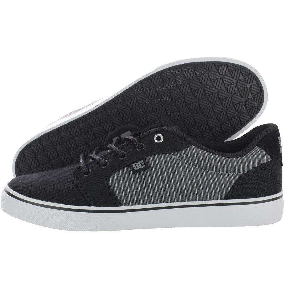 DC Anvil TX SE Men's Skateboard Shoes - Black Stripe BSP