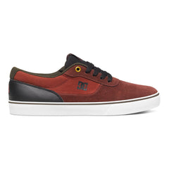 DC Switch S Men's Skateboard Shoes - Burgundy BUR