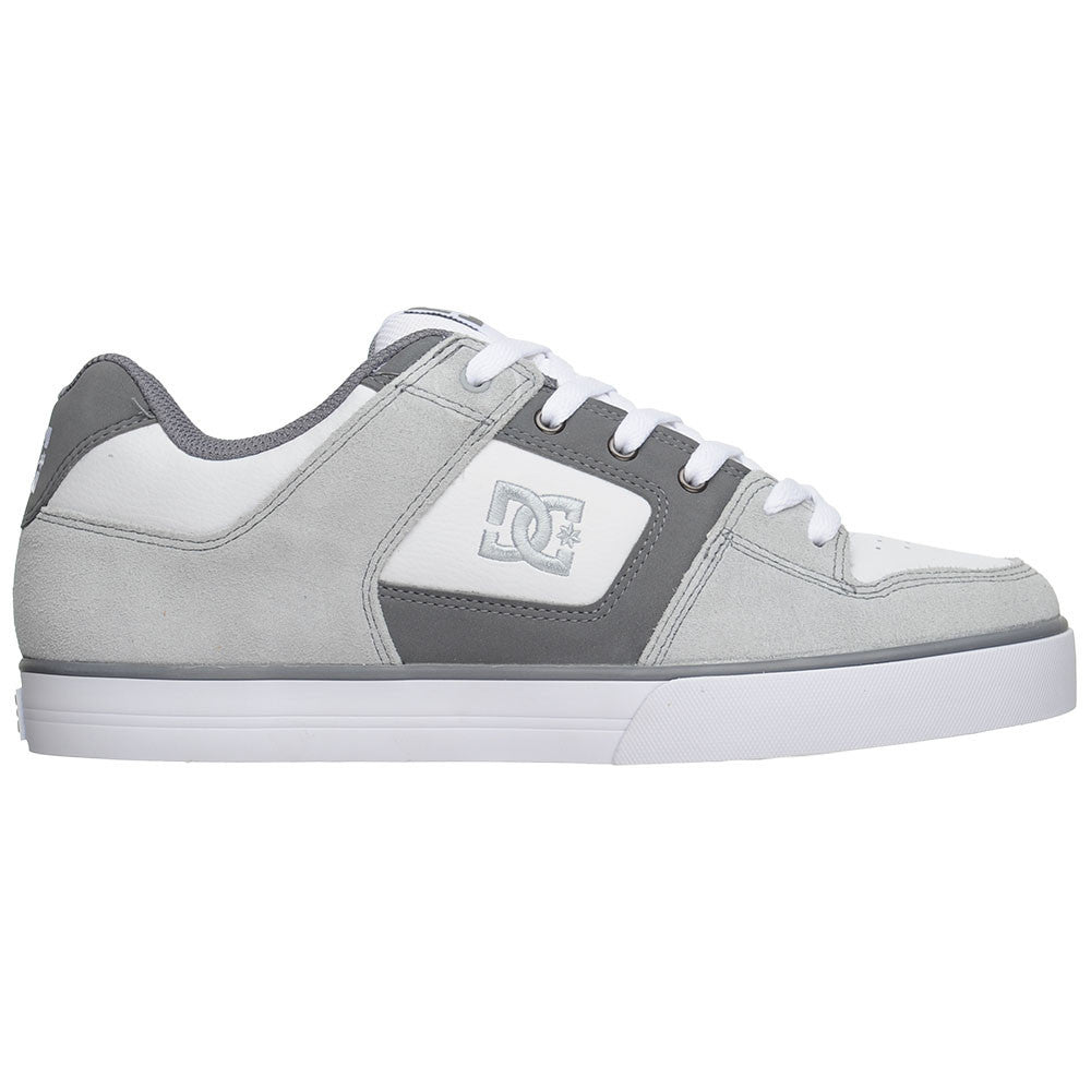DC Pure Men's Skateboard Shoes - Armor/Battleship (RBT)