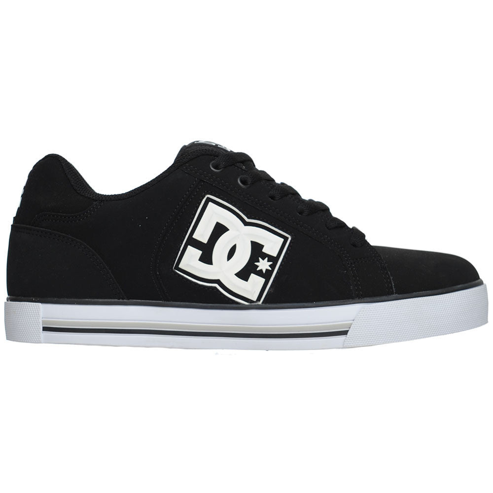 DC Stock Men's Skateboard Shoes - Black/White (BKW)