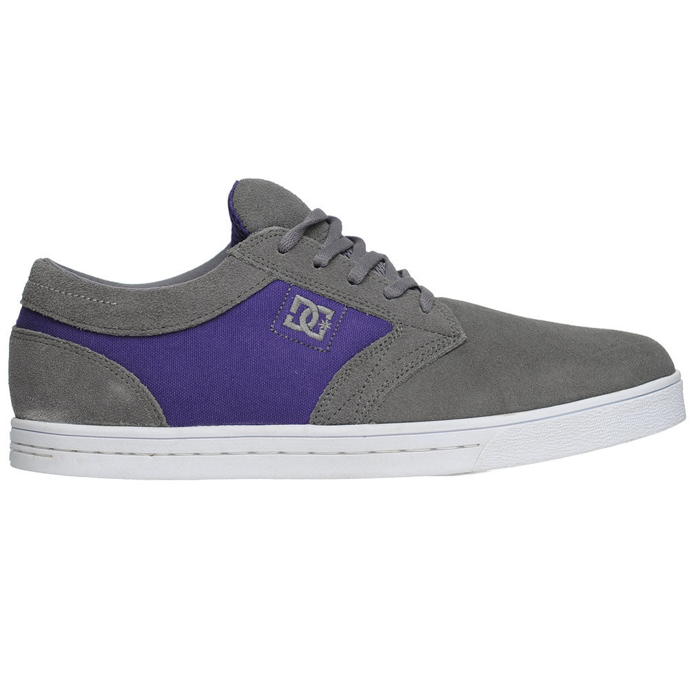 DC Trust Men's Skateboard Shoes - Battleship/Purple (TLP)
