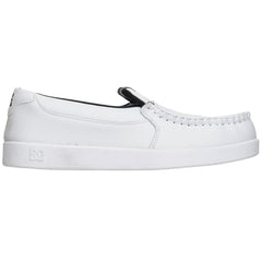 DC Villain Men's Skateboard Shoes - White/Monogram (WMN)