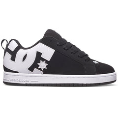 DC Court Graffik Men's Skateboard Shoes - Black (001)