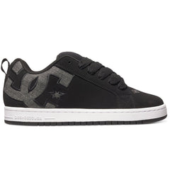 DC Court Graffik SE Men's Skateboard Shoes - Black Wash (BW8)