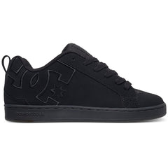 DC Court Graffik SE Women's Skateboard Shoes - Black/Black/Black (XKKK)