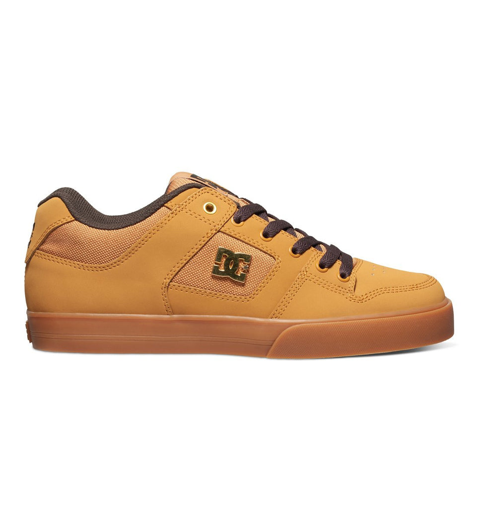 DC Pure SE Men's Skateboard Shoes - Wheat/Dark Chocolate (WD4)