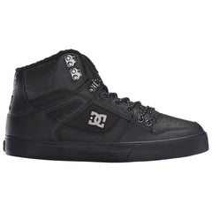 DC Spartan High WC Men's Skateboard Shoes - Black (BK3)