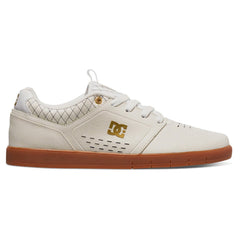 DC  Cole Signature  Men's Skateboard Shoes - White/Gold (WG1)