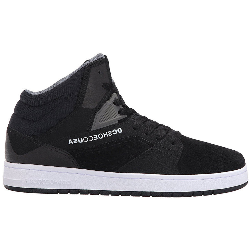 DC Seneca High Men's Skateboard Shoes - Black (BL0)